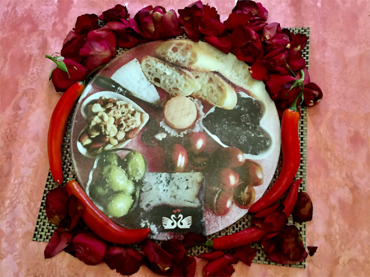 Round Cheese Platter 2