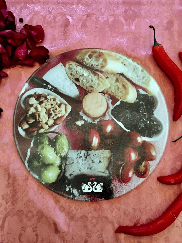 Round Cheese Platter 3