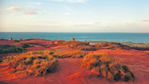 Red and Turquoise near Broome