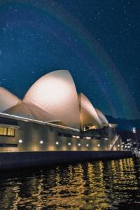 Rainbow Atop Opera House
